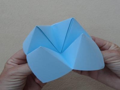 Origami: Fortune teller - Papiroflexia: Comecocos