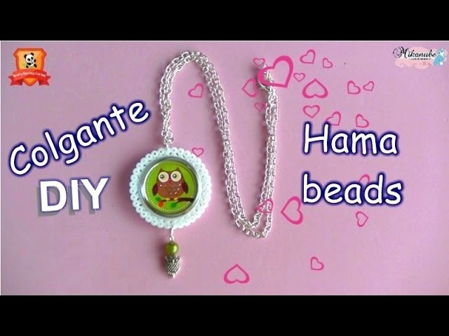 Pandahall Spring Beading Contest |Colgante con hama beads
