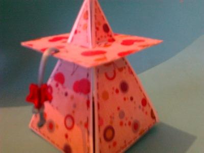 Pirámide Scrapbook || Paper Crafting ||