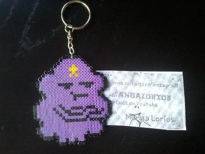 Princesa bultos, hora de aventuras hama beads mini