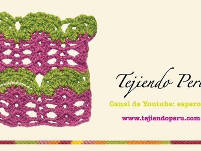 Punto fantasía # 31 para tejer en crochet
