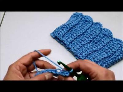 Reborder para bota en crochet