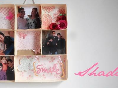 Shadow Box || Scrapbook - Paper Crafting || Día de las Madres