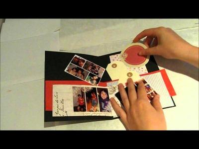 Tarjeta de Cumpleaños Personalizada para Chica by Scrapanita