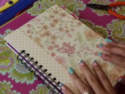 TUTORIAL - agenda 2015 -  SCRAPBOOK