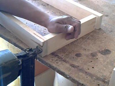 Tutorial Como Hacer un modulo de madera y melamina parte 1, Hágalo usted mismo diy.