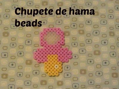 Tutorial de chupete con hama beads