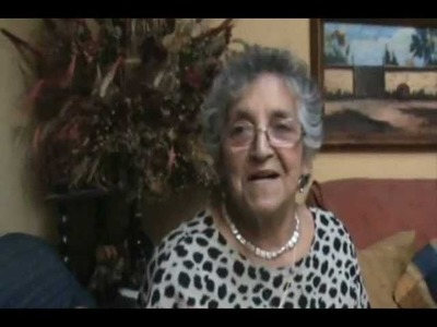 Virginia Órdenes, artesana en crochet - San Felipe.wmv