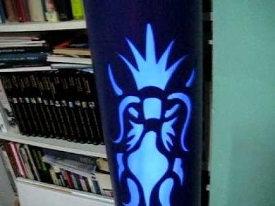 Artesanía y reciclaje: lámparas de tubos de pvc