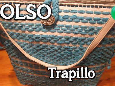 Bolso de trapillo | Bolso | Tutorial | DIY |