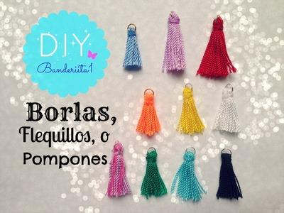 Borlas, o Flequillos Tutorial DIY