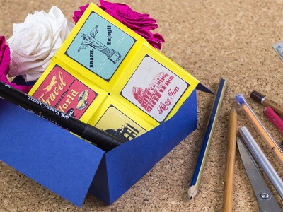 Caja organizadora basica. origami Kids