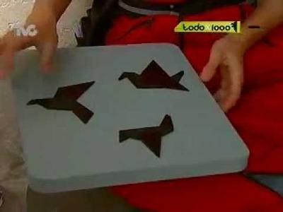Cómo hacer Cuadros Decorativos con Origami (TXM)