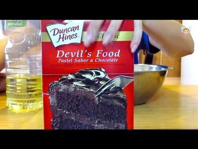 Como hacer cupcakes con el CUPCAKE MAKER Parte 1 DIY TUTORIAL