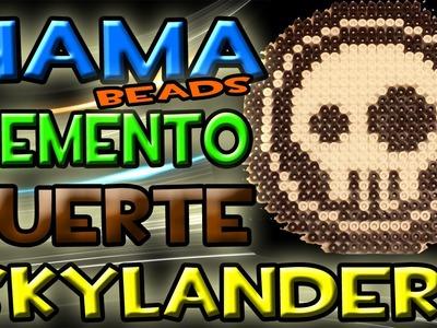 COMO HACER logo SKYLANDERS ( Elemento Muerte ) | Hama Beads - Perler Bead