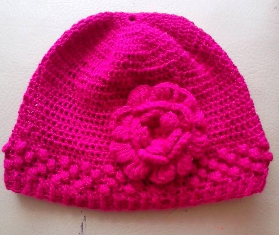 Como Hacer un Gorro en Crochet Para Niña