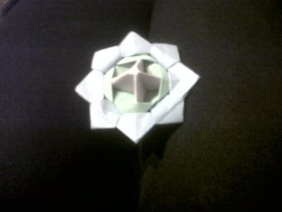 Como hacer un trompo en origami