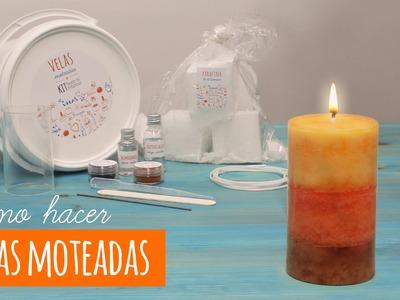 Cómo utilizar el aditivo para velas para hacer unas velas moteadas DIY