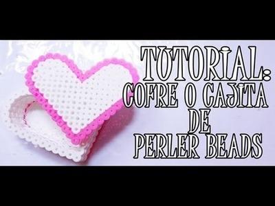 ♥  DIY CAJITA DE CORAZÓN PERLER BEADS  ♥