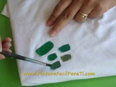 DIY Como Combinar Colores - Mezcla de Colores- Pintura Tela Pintura Decorativa Pintura Facil