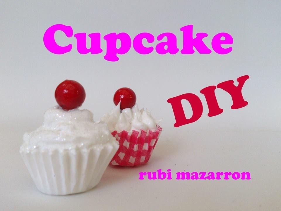 Diy. Cupcake para el arbol de navidad con decoden