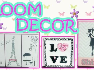 DIY decora tu habitación. Decora tus paredes :D