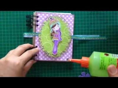 DIY notebook. SCRAPBOOK