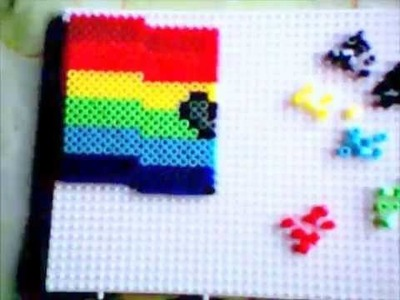 DIY Nyan Cat con Hama Beads Midi