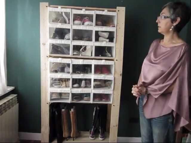 DIY: organizador de zapatos barato y cómodo