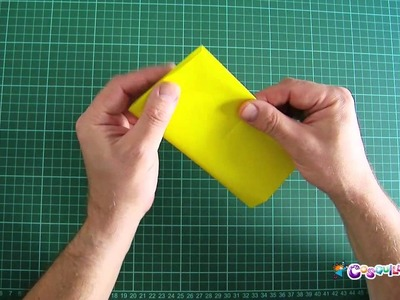 DIY Origami para principiantes: Base Cuadrada Simple