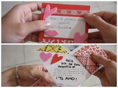 DIY♥ Tarjeta de San Valentín 2 -Yami