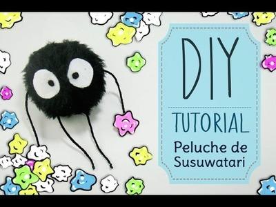 [DIY] Tutorial - Como hacer un peluche de Susuwatari.Makkuro kurosuke | Estudios Ghibli