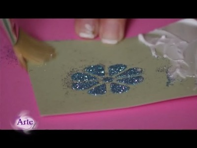 El uso de Gel Medium en scrapbooking