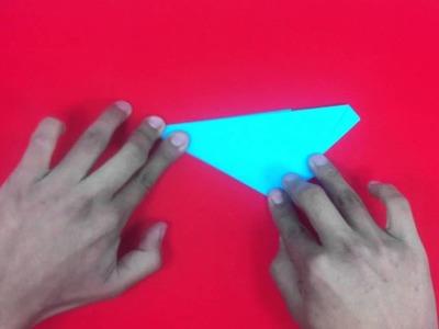 Estrella de papel con cinco puntas - Formas de origami