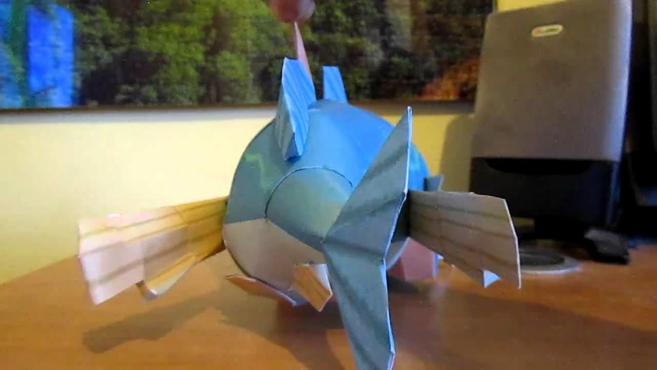 Fishman Papercraft by EldeTabernas