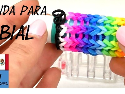 FUNDA DE GOMITAS RAINBOW PARA LABIALES - TUTORIAL DIY