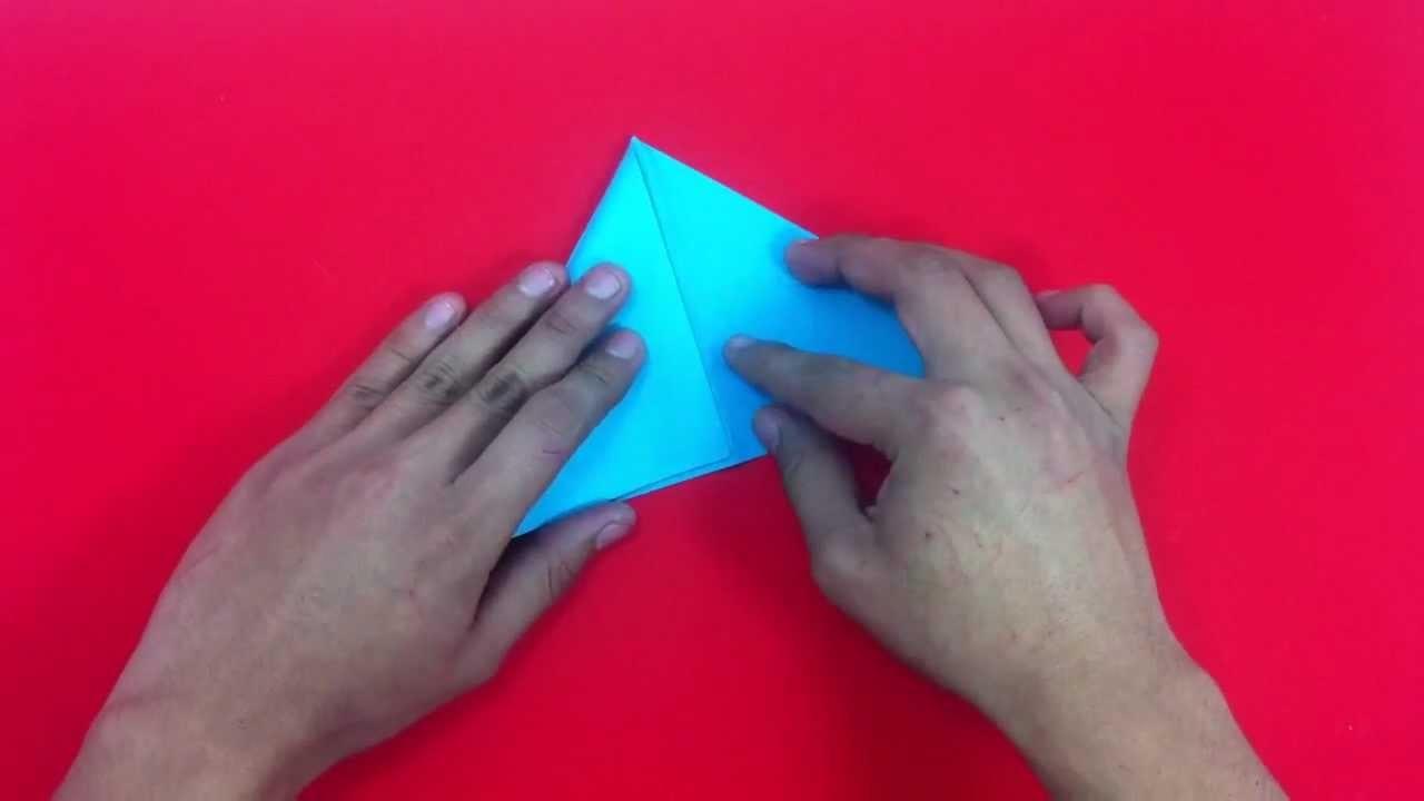 Hacer pez de origami - Manualidades para niños