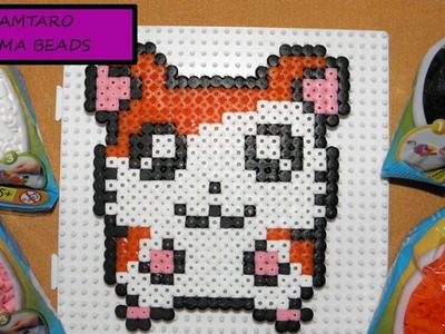 HAMA BEADS - HAMTARO. DIY crea tu propio Hamtaro con Hama Beads