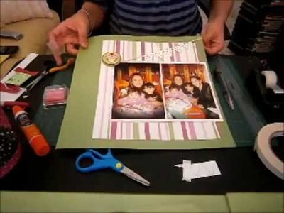 Lay Out Process Episodio # 2 - Scrapbooking Lay Out