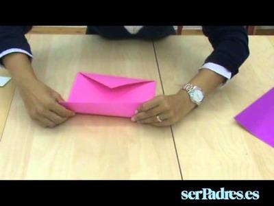 Manualidades: aprende a hacer una caja de origami