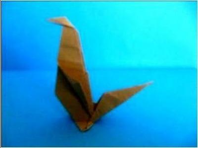 Manualidades con papel paloma de origami