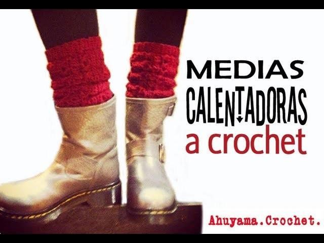 Medias Calentadoras a Crochet - Paso a Paso