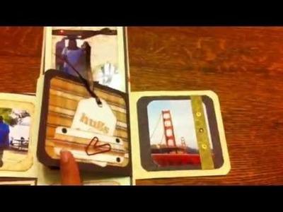 Mini album caja explosiva Scrapbook