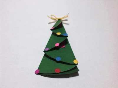 Navidad: Como doblar una carta en forma de pino fácil (origami)