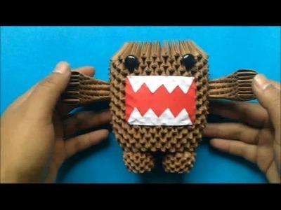 Origami 3D Domo Kun