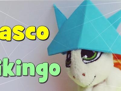 Origami - Casco Vikingo de Papel