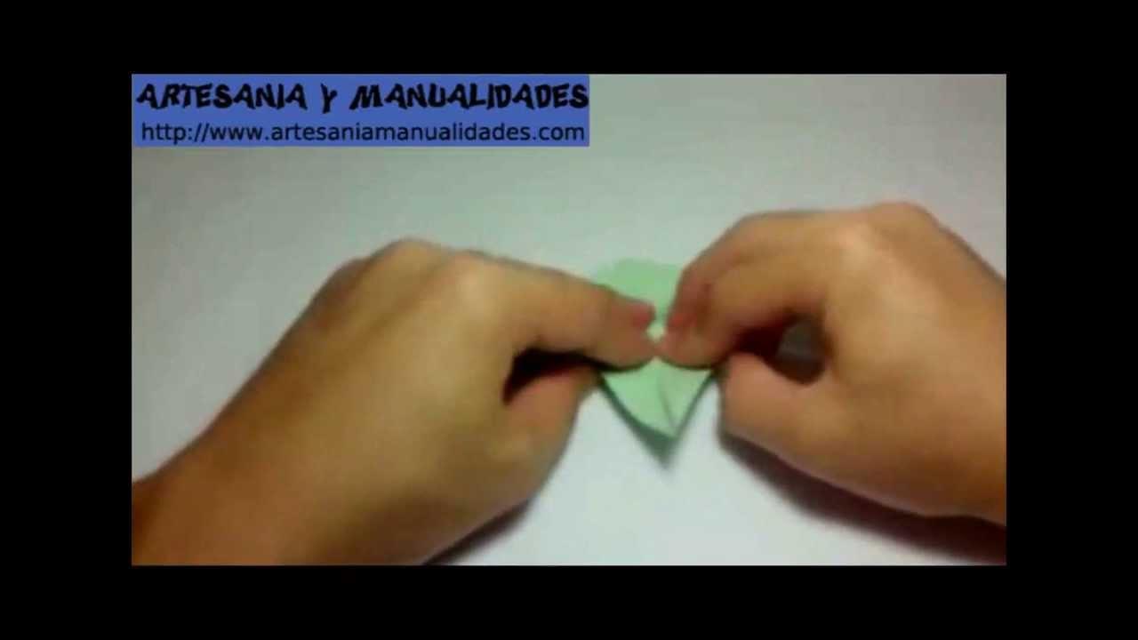 Origami Como hacer un Dragón