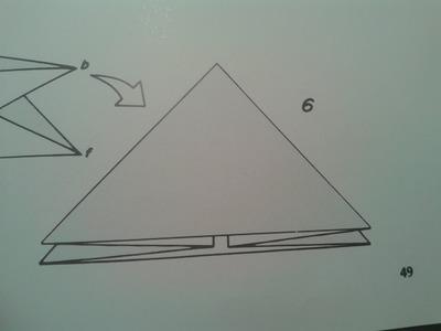 Origami para principiantes: 7# Como hacer la base de bomba de agua