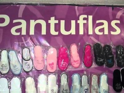 Pantuflas y Sandalias para Bodas y XV Años