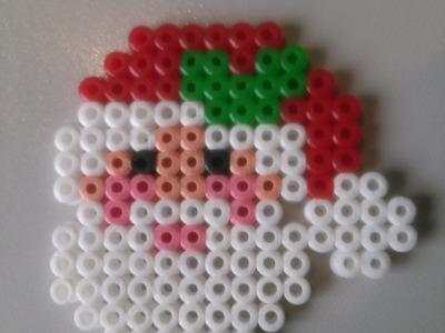 Papa Noel de Hama Beads